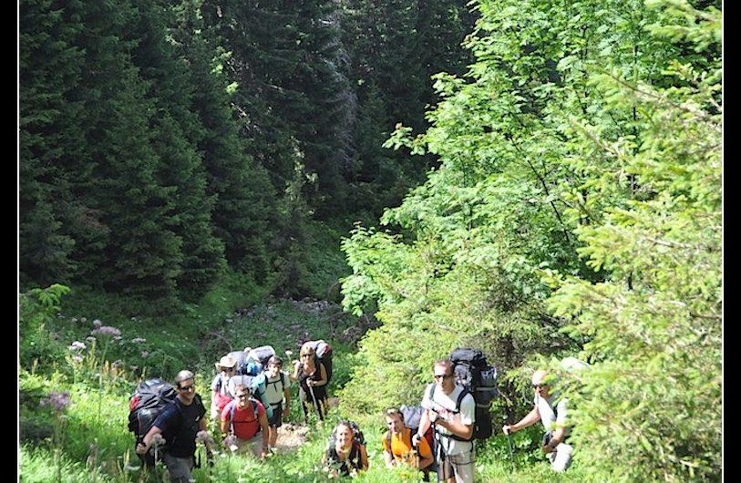 3 et 4 Août 2013, bivouac au lac de Brouffier