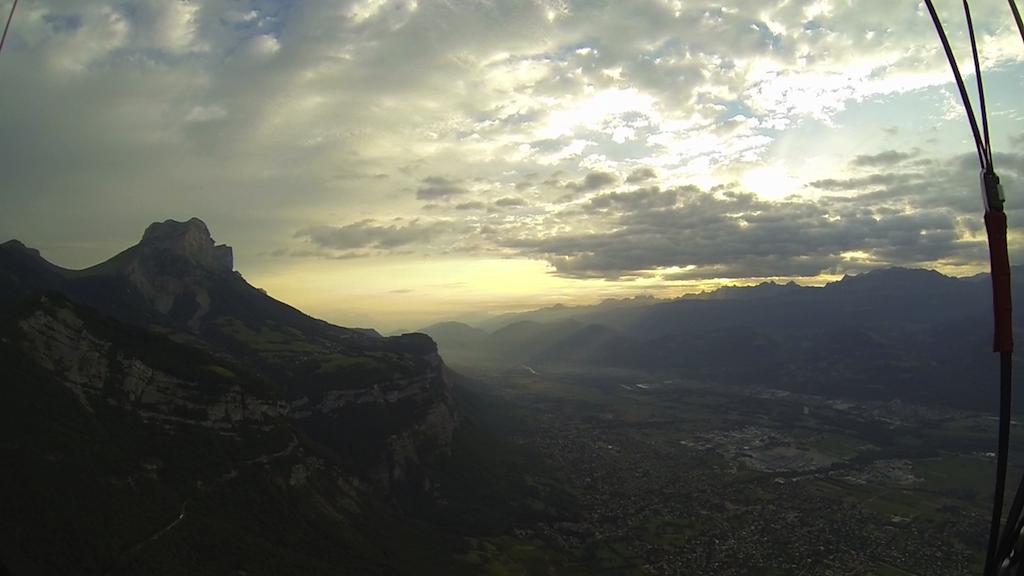 La vallée du Grésivaudant au petit matin
