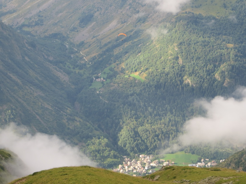 Traversée de l'Olan (alpinisme et parapente)